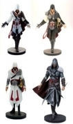 ASSASSINS CREED EZIO 4-PACK PVC STATUE
