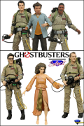 Diamond Select GHOSTBUSTERS Serie 1 & 2 ACTION FIGURES X6