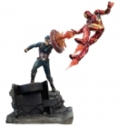 Factory Entertainment CAPTAIN AMERICA VS IRON MAN PREMIUM Motion