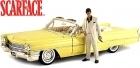 Scarface Al Pacino 1963 Cadillac DIE CAST 1:18 w/Tony Montana