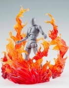 Bandai BURNING FLAME RED Effect TAMASHII
