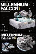 MILLENNIUM FALCON FLOATING Star Wars Episode V BEAST KINGDOM