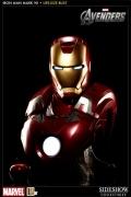 Sideshow IRON MAN Bust 1:1 MARK VII life-size AVENGERS Ironman